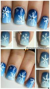 diy christmas nail art ideas designs picture instructions