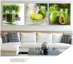 triptych lemon fruit green canvas painting modern wall paintings triptych lemon fruit green canvas painting modern wall paintings for home decorative wall art picture paint