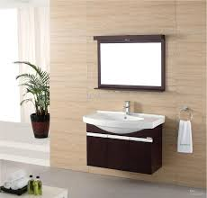Designer Mirrors For Bathrooms by Love This Vanity And Faucets Out Of Wallnot A Marble Sink So