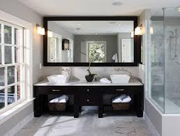 Mirrored Subway Tile Backsplash Bathroom Transitional With by 48 Inch Bathroom Vanity Bathroom Transitional With Double Vanity