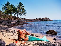 the opportunity to become a real mermaid