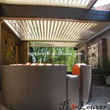Pergola With Movable Louvers by Automatic Sun Louvers Pergola Automatic Sun Louvers Pergola