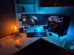 Gaming Desk Setup Ideas 655 Best Gamer U0027s Corner Images On Pinterest Pc Setup Gaming