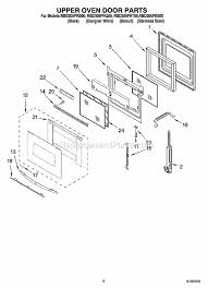 Replacement Oven Door Glass by Whirlpool Rbd305prs00 Parts List And Diagram Ereplacementparts Com