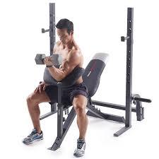 amazon com weider pro 395 b olympic bench sports u0026 outdoors