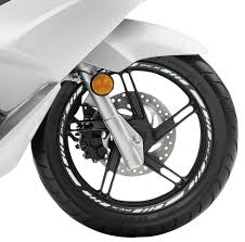 honda logos honda pcx wheel rim tape with logo wheel rim tape moto