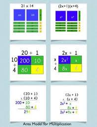 multiplication using base ten blocks math pinterest base ten