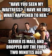 Funny Waitress Memes - fancy funny waitress memes restaurant server memes kayak wallpaper