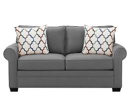 Black Microfiber Loveseat Loveseats And Leather Loveseats Raymour And Flanigan Furniture