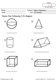 worksheet shapes range 3d shapes primaryleap co uk