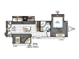 Rockwood Fifth Wheel Floor Plans by 2018 Forest River Rockwood Signature Ultra Lite 8329ss Sun City