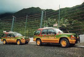 jurassic park jungle explorer jurassic park 1993 1992 ford explorer xlt electric tour car visit