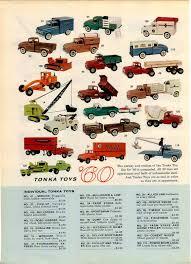 1960 advert 2 sided tonka toys color trucks tanker sets aa wrecker