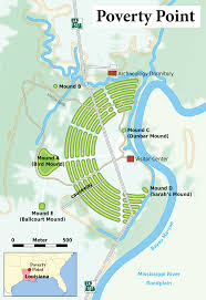 Map Of City Park New Orleans by Poverty Point Wikipedia