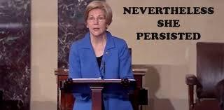 Elizabeth Warren Memes - nevertheless elizabeth warren persistedbaltimore post examiner