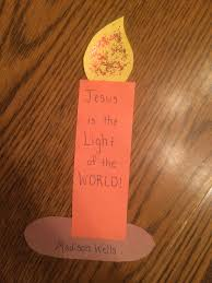 Religious Halloween Crafts by Jesus Is The Light Of The World This Little Light Of Mine