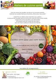 affiche atelier cuisine atelier cuisine santé karolina dantin