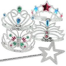 Tiara And Wand Favor by No Princess Can Rule Kingdom Without A Tiara And Wand Glitzy