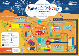 Australia Time Zone Map by Australia Day 2017 All The Best Family Friendly Events