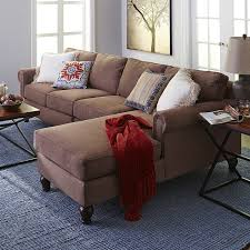 Build Your Own Sofa Sectional Build Your Own Alton Mahogany Brown Rolled Arm Sectional
