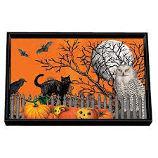 Michel Design Works Home Fragrance Diffuser by Michel Design H7 Halloween Wooden Vanity Tray U2013 Trick Or Treat