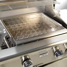 outdoor griddle crown verity inc 72in stainless steel liquid