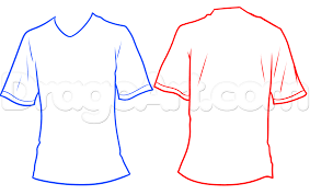 football jersey drawing lesson step by step sports pop culture