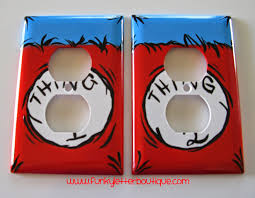 Dr Seuss Bedroom The Funky Letter Boutique 19 Must Haves For Decorating An