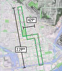 Map Cincinnati Streetcar Measurements Cincinnati Transit Blog