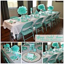 tiffany blue wedding table settings tiffany bridal shower table