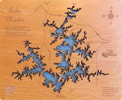 State Of Alabama Map by Lake Martin Alabama Laser Engraved Map