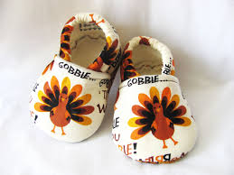 thanksgiving turkey baby shoes baby or by ellecouturebaby