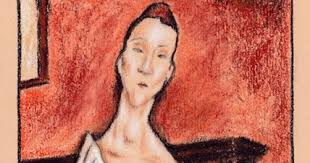 modigliani woman with a fan travis simpkins la femme à l éventail by amedeo modigliani