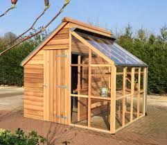 the grow and store combination shed and greenhouse from the