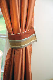 Tie Backs Curtains How To Make Curtain Tie Backs