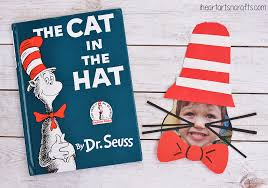 cat in the hat craft for kids i heart arts n crafts