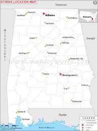 Athens Ga Zip Code Map by Where Is Athens Located In Alabama Usa