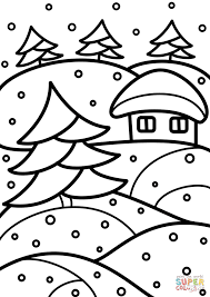 winter stained glass coloring page free printable coloring pages