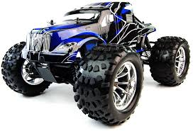 crusher electric radio controlled monster truck