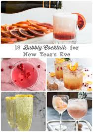 frugal foodie mama 18 bubbly cocktails for that new year u0027s eve toast