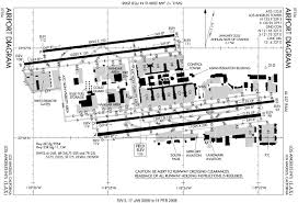 Phoenix Sky Harbor Terminal 4 Map by Airport Runway Layout Diagrams Description Laxairportdiagram2
