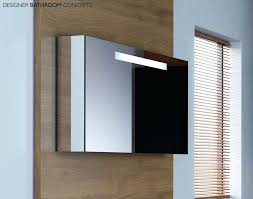 Illuminated Mirrored Bathroom Cabinets Recessed Mirrored Medicine Cabinet With Lights Bathrooms Cabinets