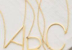 Monogram Pendant Necklace Clever Design Monogram Pendant Necklace Anthropologie Clip Arts