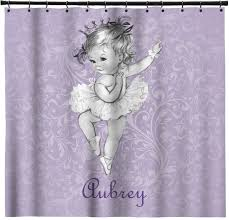 Ballerina Curtains Ballerina Shower Curtain Shower Curtain Rod