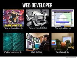Web Meme - what people think i do web developer geek girl pinterest