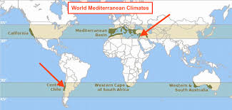 Mediterranean Climate Map Nephicode Evolution Of Land Of Promise Geography U2013 Part V
