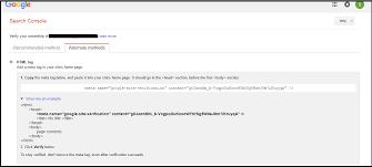 setting up google webmaster account all jobs hub