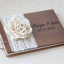rustic wedding guest book wedding guest book nautical wedding from woodlack on etsy