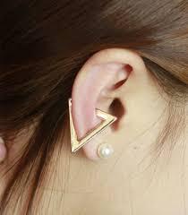 ear cuffs ear cuff no pierced ear clip on earrings for women triangle