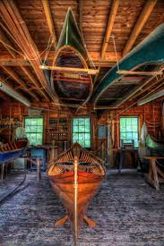 242 best vintage canoes and guideboats images on pinterest